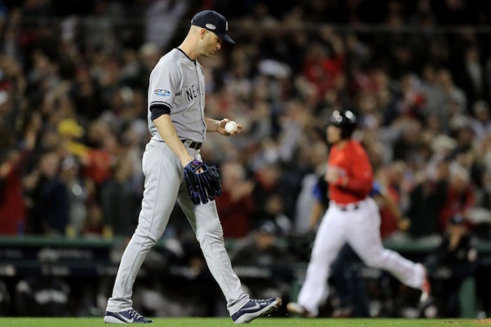 Yankees-Red Sox ALDS Game 1: A Loss Was Expected