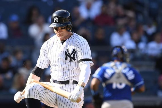 Clint Frazier Doesn't Have a Yankees Future