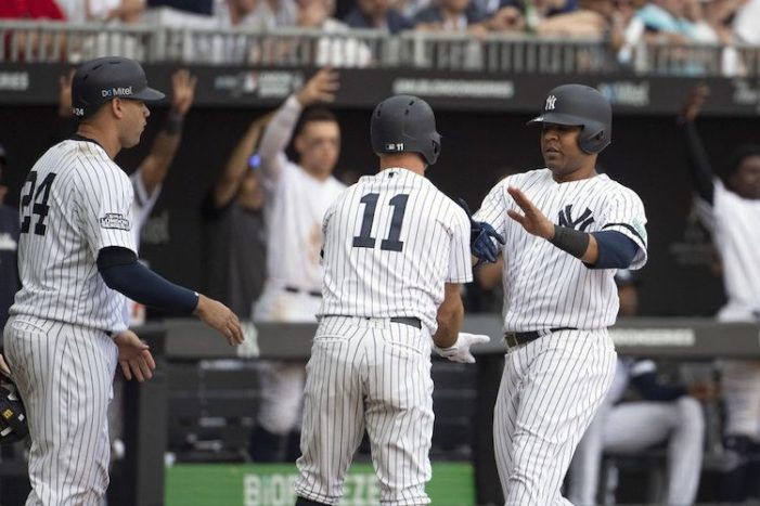 Off Day Dreaming: Yankees Have Clinched AL East
