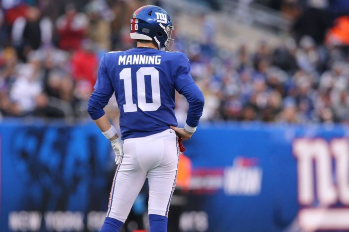 The Undeserved End for Eli Manning