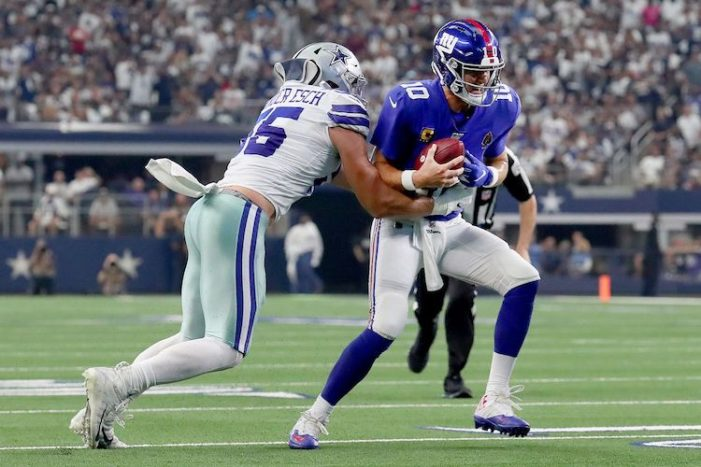 Giants-Cowboys Week 1 Thoughts: New Season, Old Giants