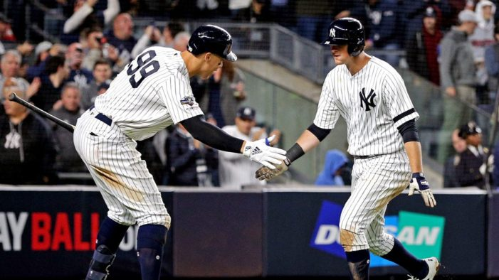 Yankees-Twins ALDS Game 1 Thoughts: D(erek) J(eter) LeMahieu Leads the Way