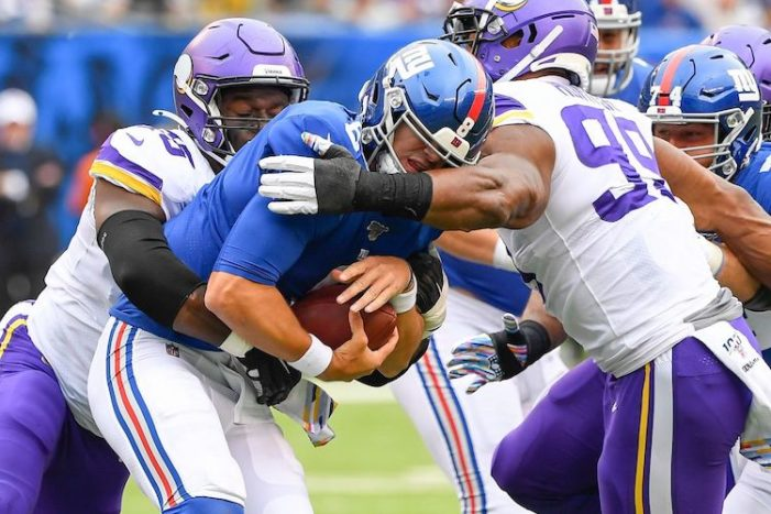 Giants-Vikings Week 5 Thoughts: The Return of the Real Giants