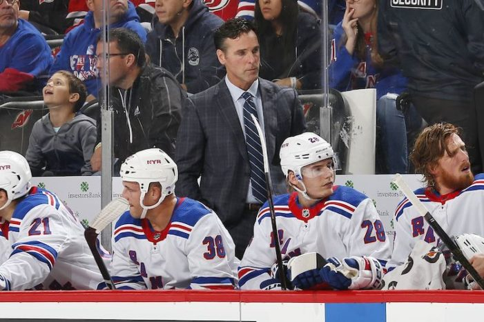 Rangers' Roster Should Better Reflect Rebuild