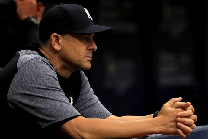 Another Clean Slate for Aaron Boone