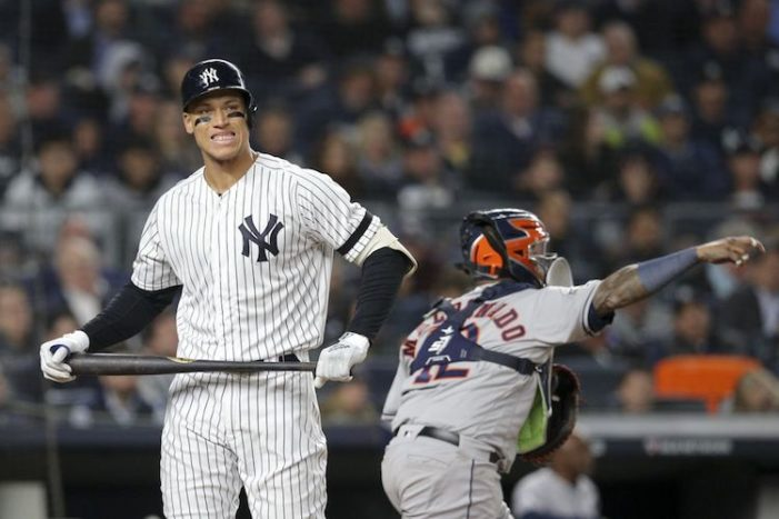 Yankees-Astros ALCS Game 3 Thoughts: The Annual October Offense Disappearing Act