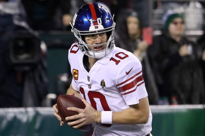 Eli Manning Made Me Return to Rooting for the Giants