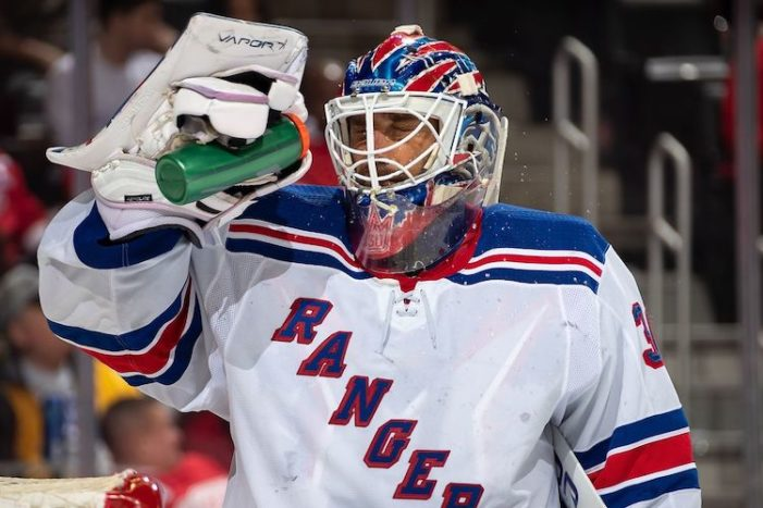 Rangers Thursday Thoughts: Leave Henrik Lundqvist Alone