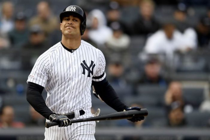 Giancarlo Stanton Is the Yankees' New Jacoby Ellsbury