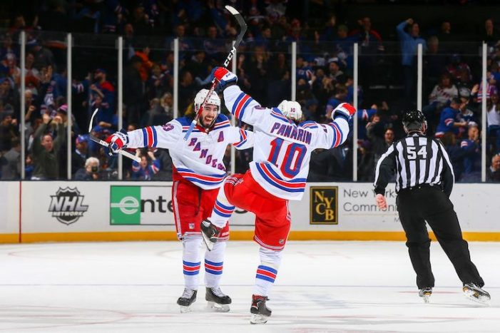 Rangers Need to Screw Line Balance, Play Artemi Panarin and Mika Zibanejad Together All the Time