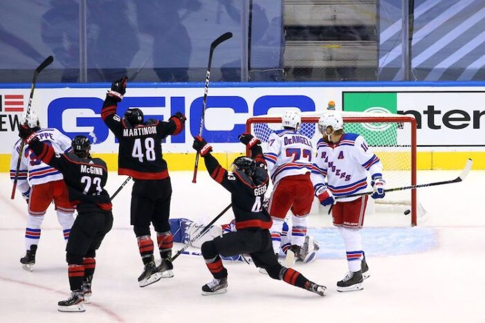 Rangers-Hurricanes Game 2 Thoughts: The Brink of Elimination