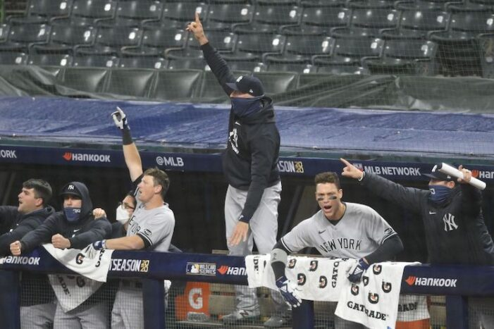 Yankees-Indians Wild Card Series Game 2 Thoughts: Yankees Advance In Spite of Aaron Boone