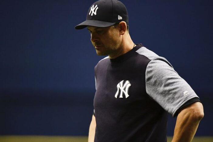 Yankees Thoughts: Aaron Boone Is a Liar