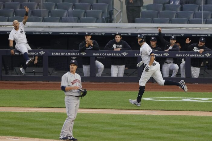 Yankees Finally Show Up to Play a Month Late