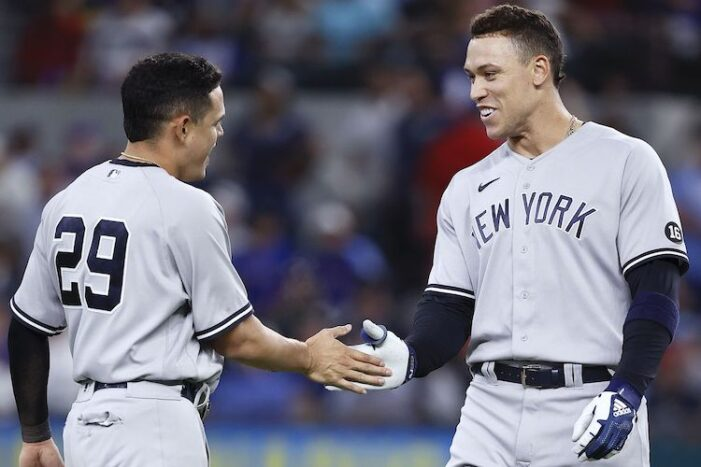 Yankees Thoughts: Season-Long Road Trip Ends After Rolling Through Rangers