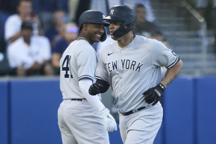 Yankees Podcast: No Reason to Not Reunite Gary Sanchez and Gerrit Cole