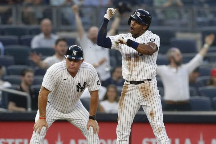 Yankees Thoughts: I Love the Greg Allen and Estevan Florial Yankees