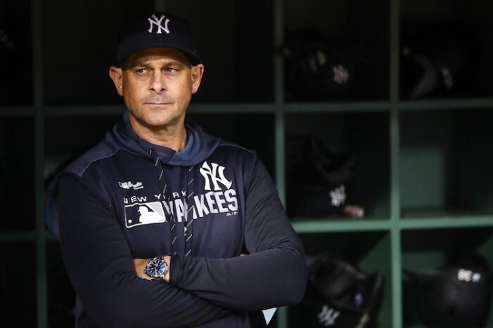 Yankees Podcast: Perfect Day to Fire Aaron Boone
